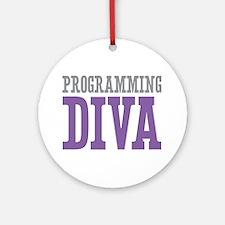 Programming DIVA Ornament (Round)