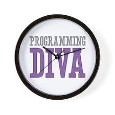 Programming DIVA Wall Clock