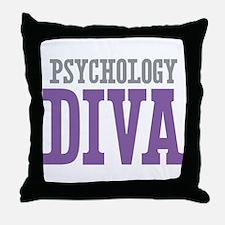 Psychology DIVA Throw Pillow