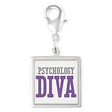Psychology DIVA Silver Square Charm