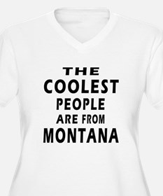 The Coolest People Are From Montana T-Shirt