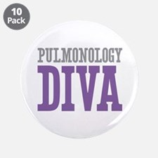 "Pulmonology DIVA 3.5"" Button (10 pack)"