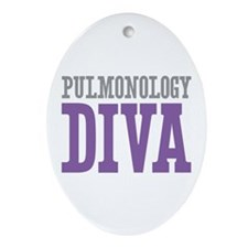 Pulmonology DIVA Ornament (Oval)