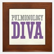 Pulmonology DIVA Framed Tile