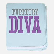 Puppetry DIVA baby blanket