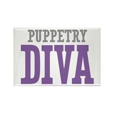 Puppetry DIVA Rectangle Magnet