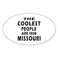The Coolest People Are From Missouri Decal