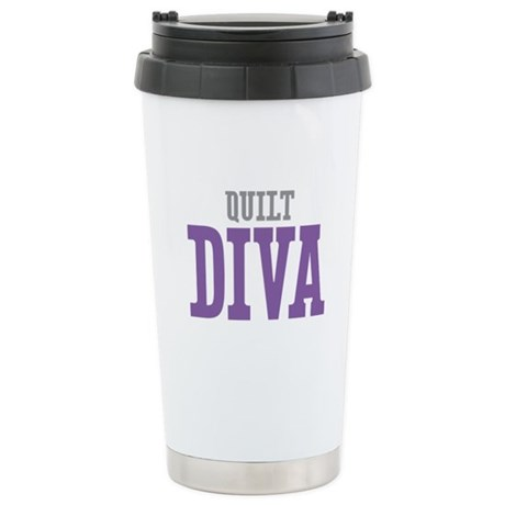 Quilt DIVA Stainless Steel Travel Mug