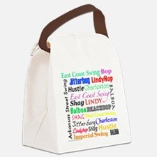 All Swing Dances Canvas Lunch Bag
