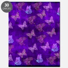 Purple Butterflies Puzzle