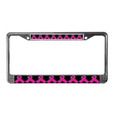 Breast Cancer Ribbon License Plates