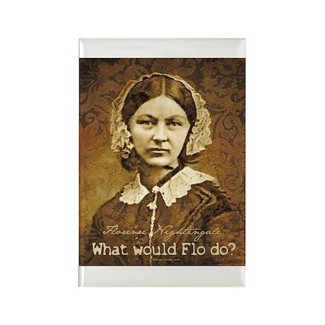 Flo do? Florence Nightingale Rectangle Magnet