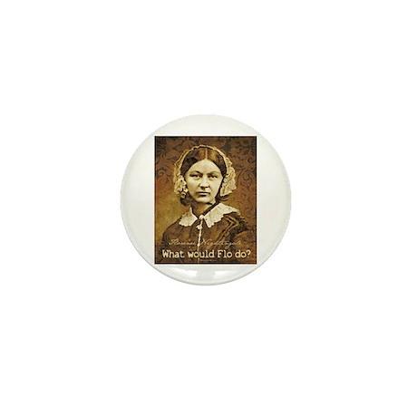 Flo do? Florence Nightingale Mini Button