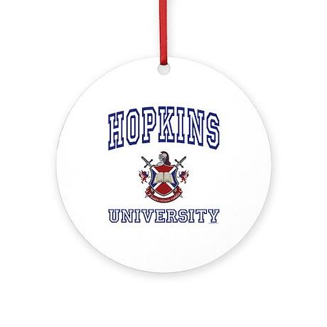 HOPKINS University Ornament (Round)