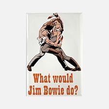 Jim Bowie Rectangle Magnet