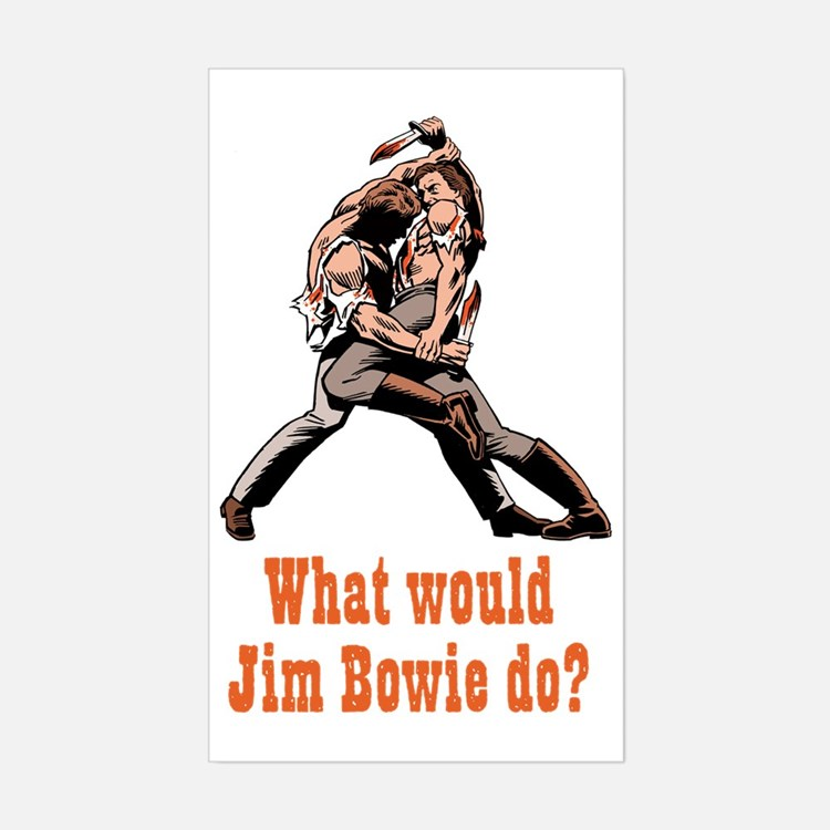Jim Bowie Decal