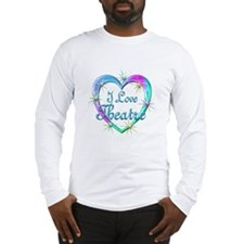 I Love Theatre Long Sleeve T-Shirt