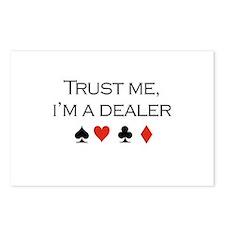 Trust me, I'm a dealer / Poker Postcards (Package