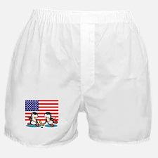 Ice Hockey Penguins Boxer Shorts