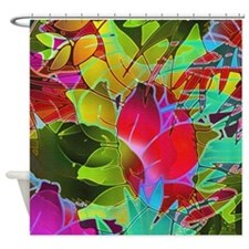 Floral Abstract 2 Shower Curtain