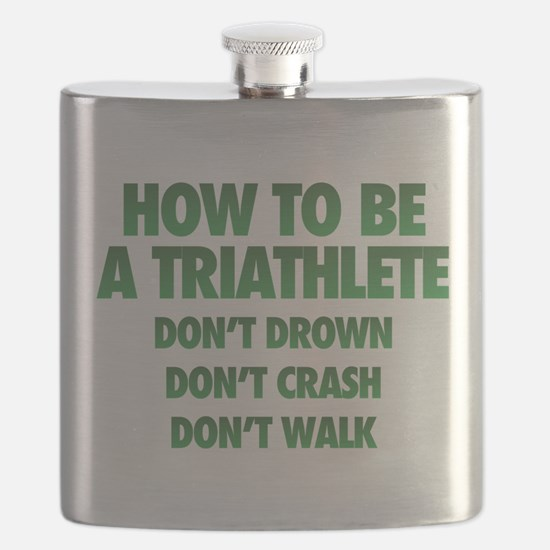 How To Be A Triathlete Flask