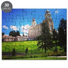 Manti Temple Puzzle