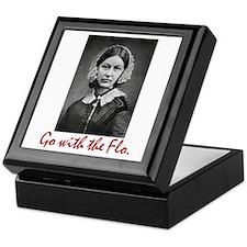 Go with Florence Nightingale! Keepsake Box