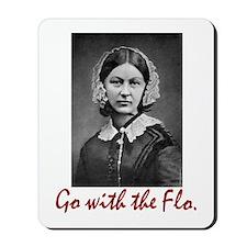 Go with Florence Nightingale! Mousepad