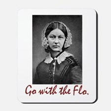 Go with Florence Nightingale! Mousepad