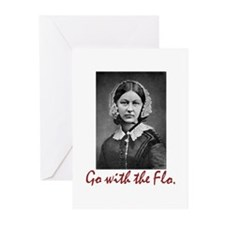 Go with Florence Nightin Greeting Cards (Pk of 10)