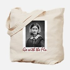 Go with Florence Nightingale! Tote Bag
