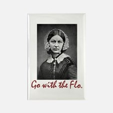 Go with Florence Night Rectangle Magnet (100 pack)