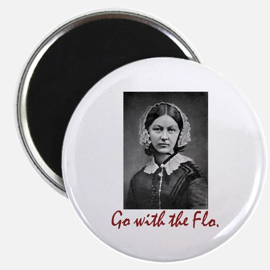 Go with Florence Nightingale! Magnet
