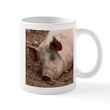 Sleeping Pig Mug