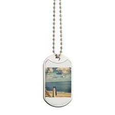 With a View Dog Tags