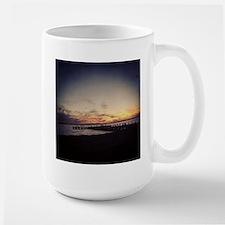 Sun Goes Down on Seaside Mugs