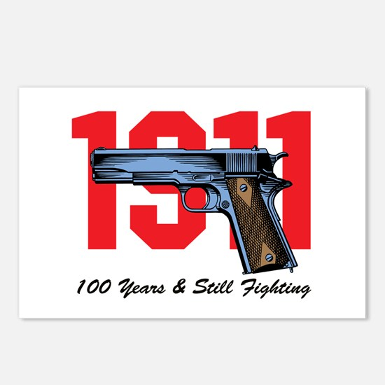 1911 Pistol Postcards (Package Of 8)