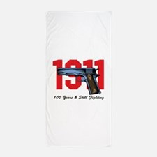 1911 Pistol Beach Towel
