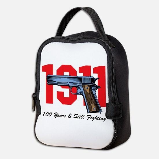 1911 Pistol Neoprene Lunch Bag