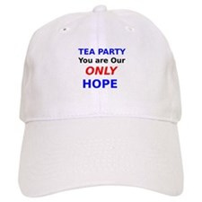 Tea Party You are Our Only Hope Baseball Baseball Cap