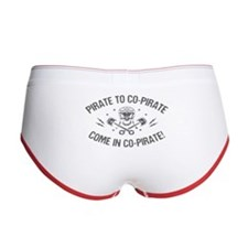 Pirate to Co-Pirate II Women's Boy Brief