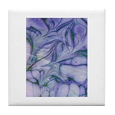 Purple Marble Design by Hebron Tile Coaster