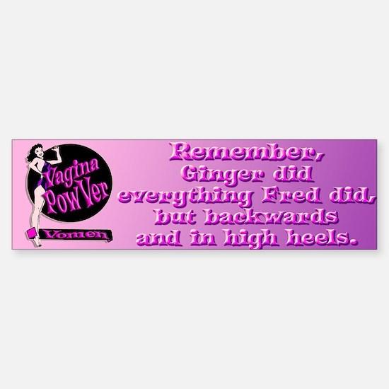 Vagina PowVer Vumper StickVer High Heels