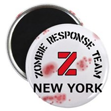 Zombie Response Team New York Magnet