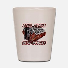 Engine Block Shot Glass