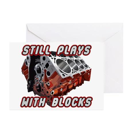 Engine Block Greeting Cards (Pk of 20)