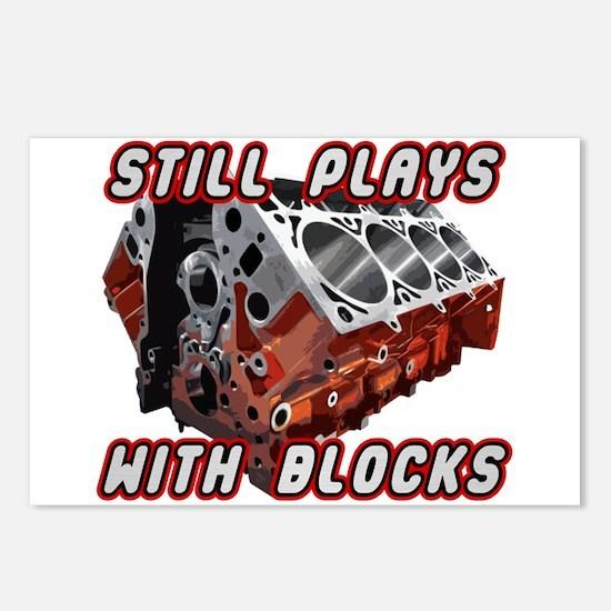 Engine Block Postcards (Package of 8)