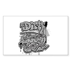 DIRTY SOUTH Rectangle Decal
