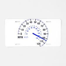 Racing - Speeding - MPH Aluminum License Plate