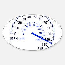 Racing - Speeding - MPH Decal